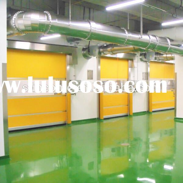 interior roll up industrial rolling shutter door