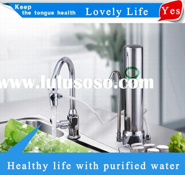 2015 best home non-electric counter top water filter best kitchen non-electric Filter System