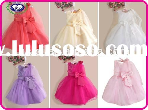 2015 new children girl paillette decorated formal dress princess dance costume with veil beautiful p