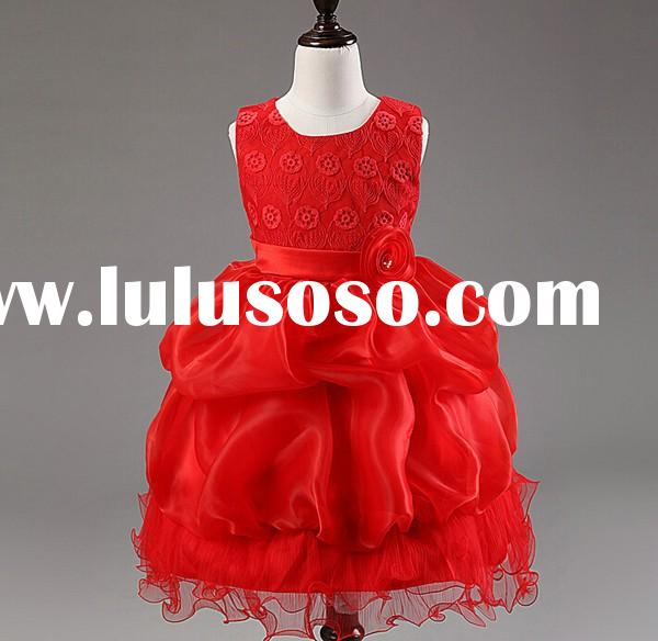 Baby girl party dress baby formal dancing dress wholesale children dresses