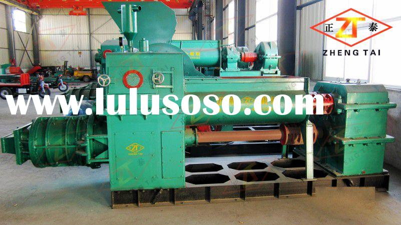 Cheap earth soil block making machine clay brick product line for sale at home and abroad