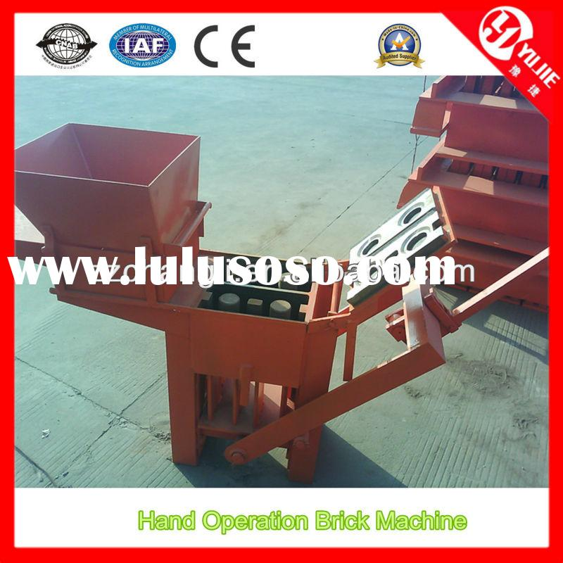 China QM2-40 Small Earth Blocks Forming Machine Manual for Sale