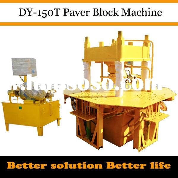 DY-150T hydraulic manual earth block machine for sale / hand operated interlocking brick machine