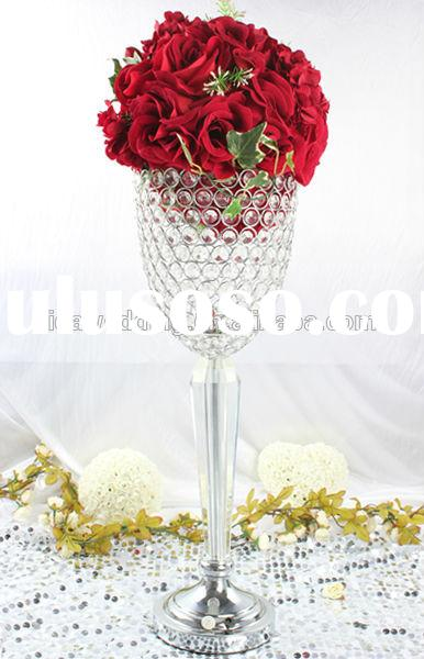 Wedding Vintage Martini Glass Vases Centerpieces Table Decoration