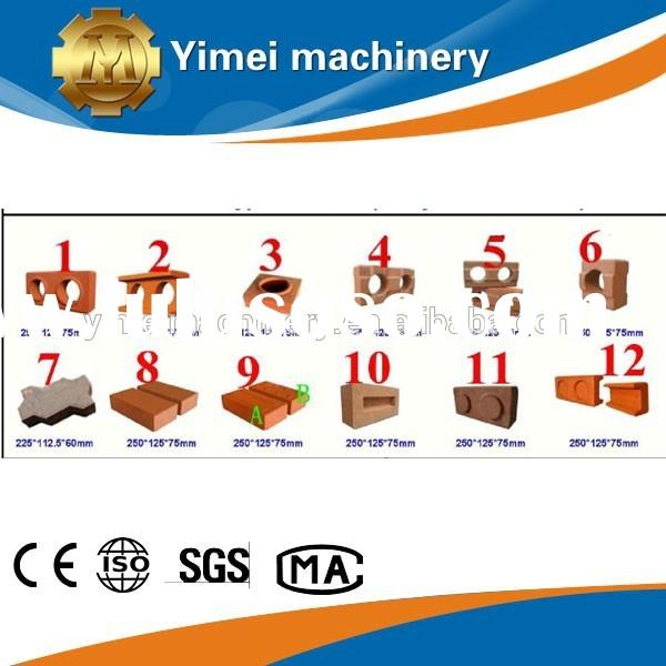 Yimei brand compressed earth block machine for sale