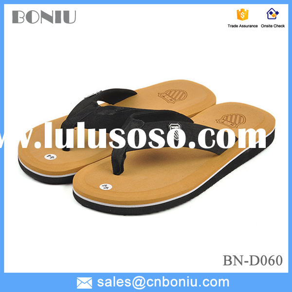 men slippers flip flop beach slippers Summer fashion flip-flops Sandals same style with David Beckha