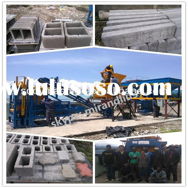 new technology products for compressed earth block machine for sale
