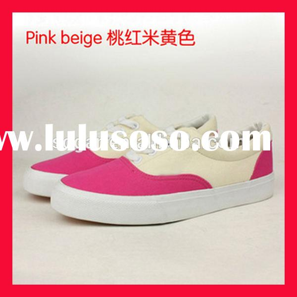 trendy brand women canvas shoes flat sole shoe new style wholesale