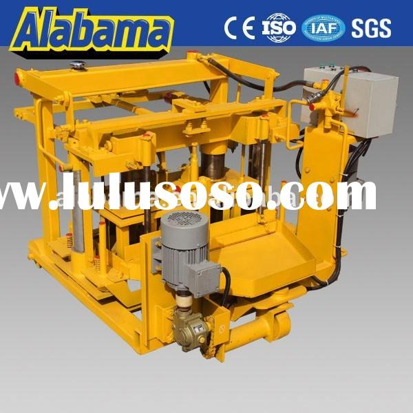 with factory price by 20 years manual compressed earth block machine for sale
