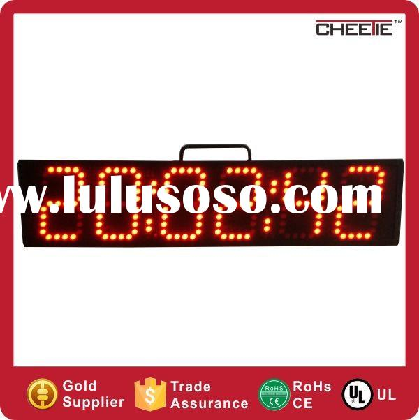 2015 New Design LED Large Display Digital Wall Clock