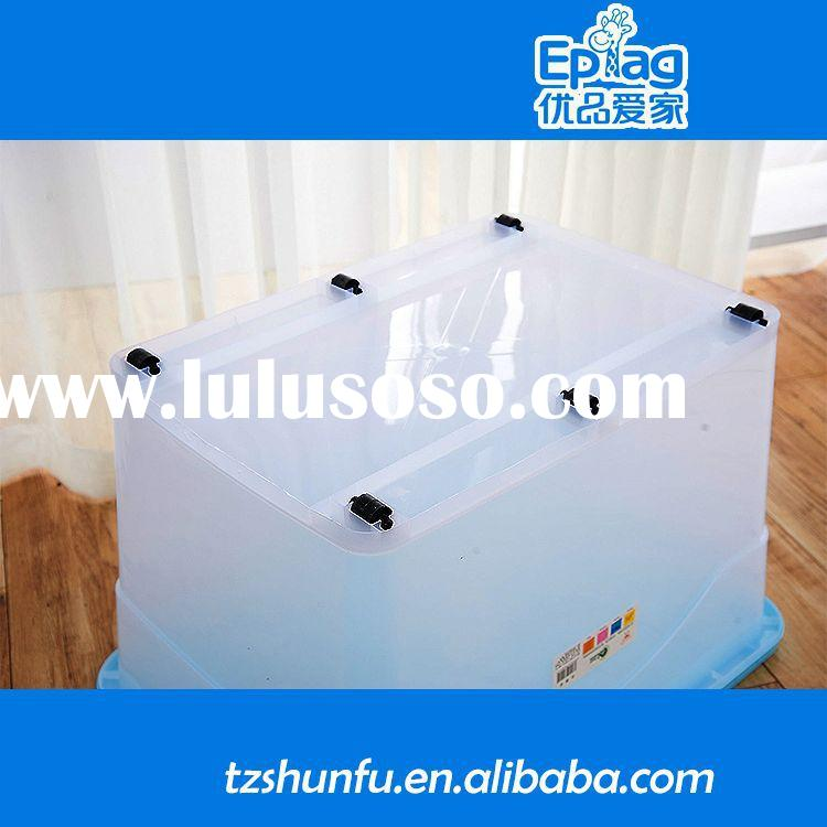 2015 plastic container with lock and key,large industrial plastic container,excellent quality with r