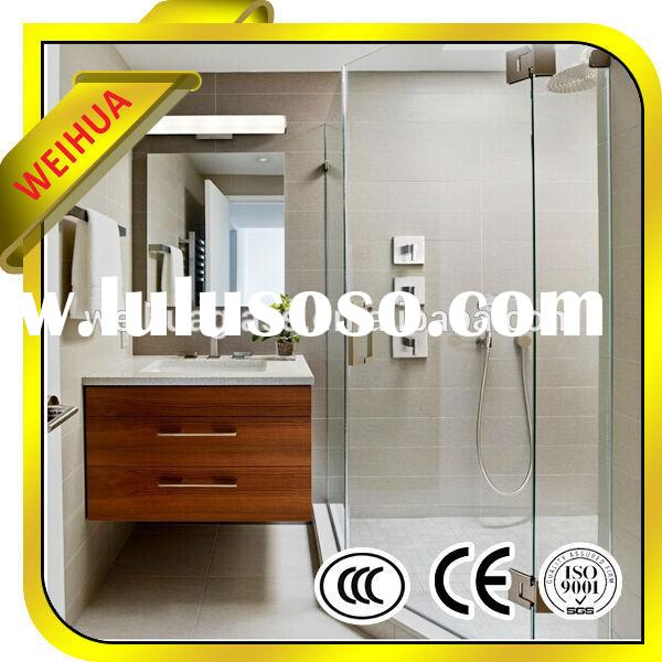6mm tempered glass bathtub sliding shower screens from manufacturer with CE/CCC/SGS/ISO