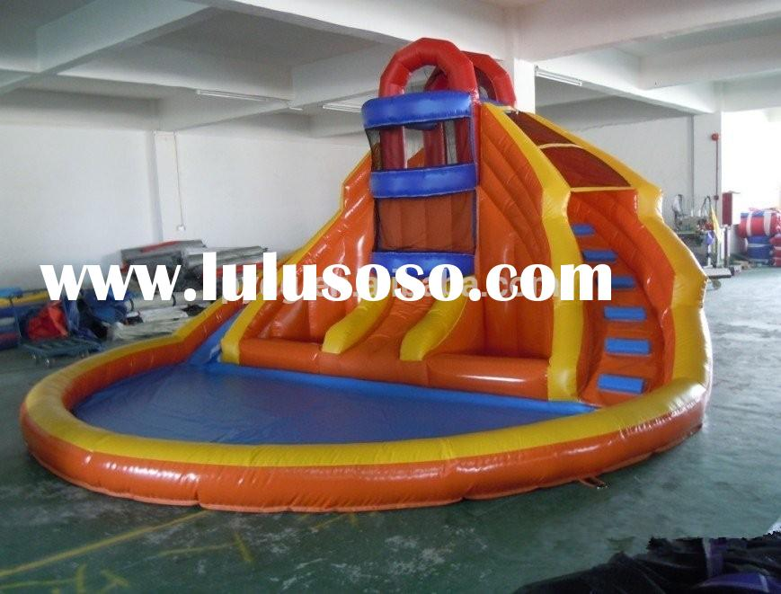 Best Selling Kids Inflatable Water Slides with Pool for Sale