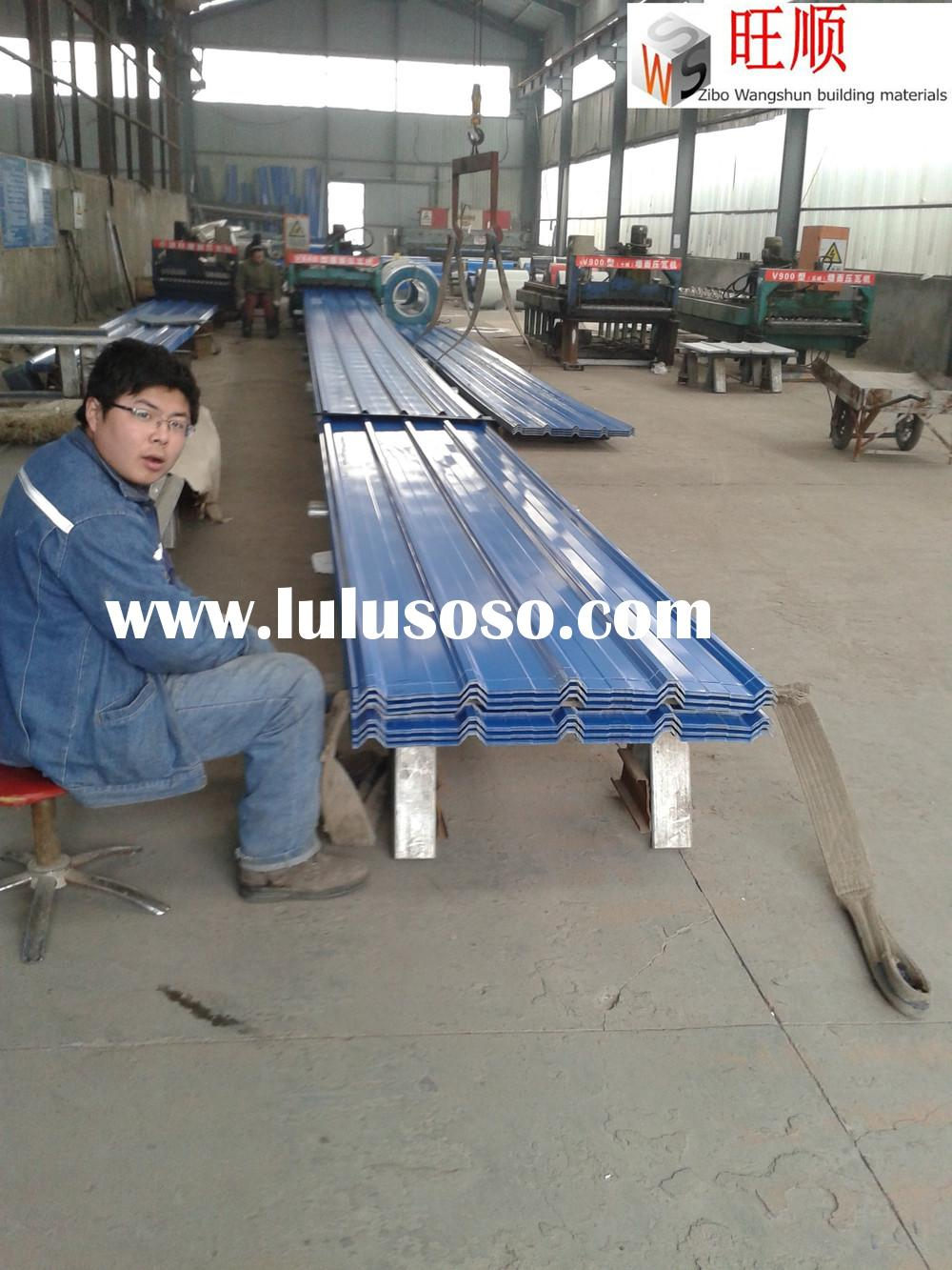 CHEAP BOX PROFILE & CORRUGATED METAL ROOFING SHEETS /TIN ROOF