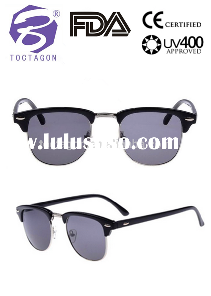 Fashion wayfarer optical frame latest designer high end quality metal round half frame eyewear have