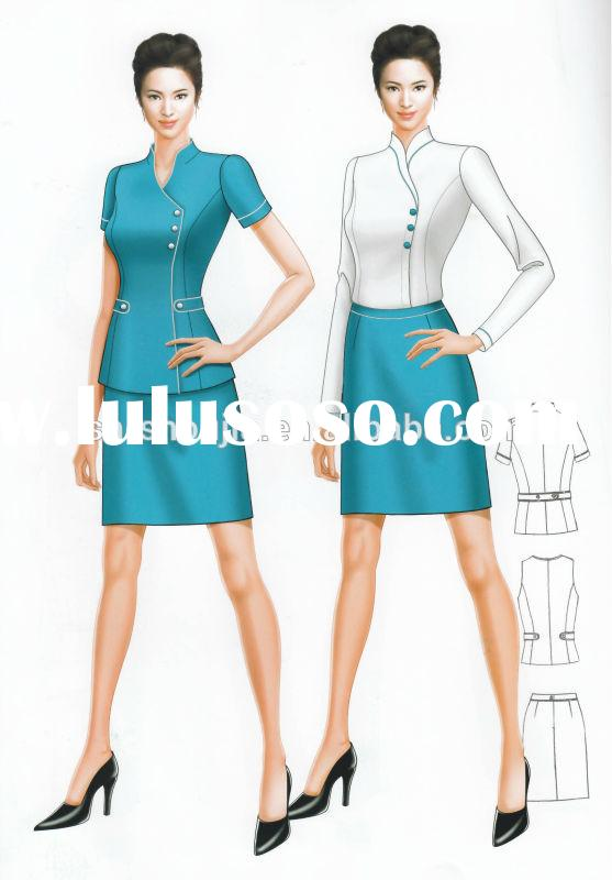 Fashion business suits for women 2014, lady office suit 2014, office uniforms for ladies