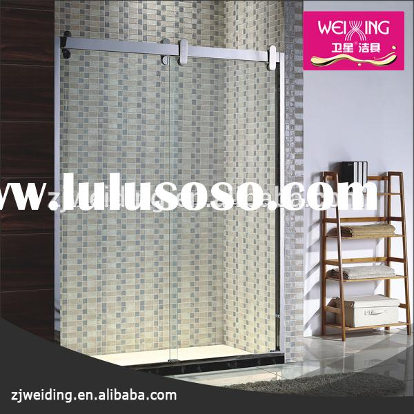 Hangzhou bathtub shower enclosure bathtub shower glass 8mm and 6 mm bathtub shower screens
