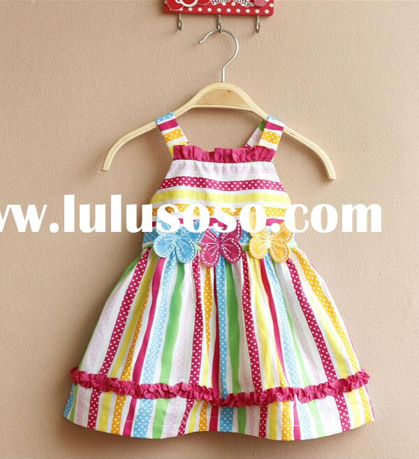 Hotsale baby girl summer dress/dress baby/pakistani baby cotton dress