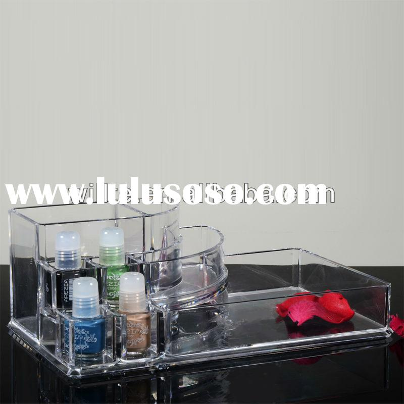 Popular Acrylic Cosmetic Display Unit/Plexiglass Makeup Display Unit