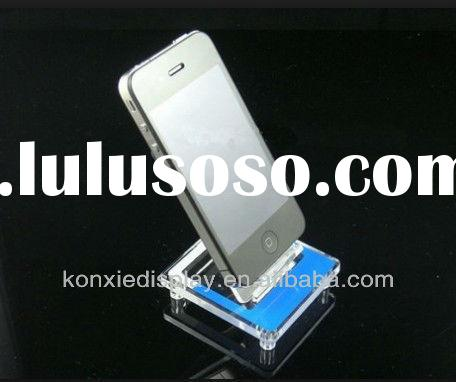 acrylic plexiglass cell mobile phone exhibition display unit