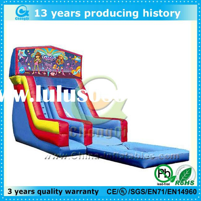best price kids inflatable slide for sale, kids inflatable slide with pool