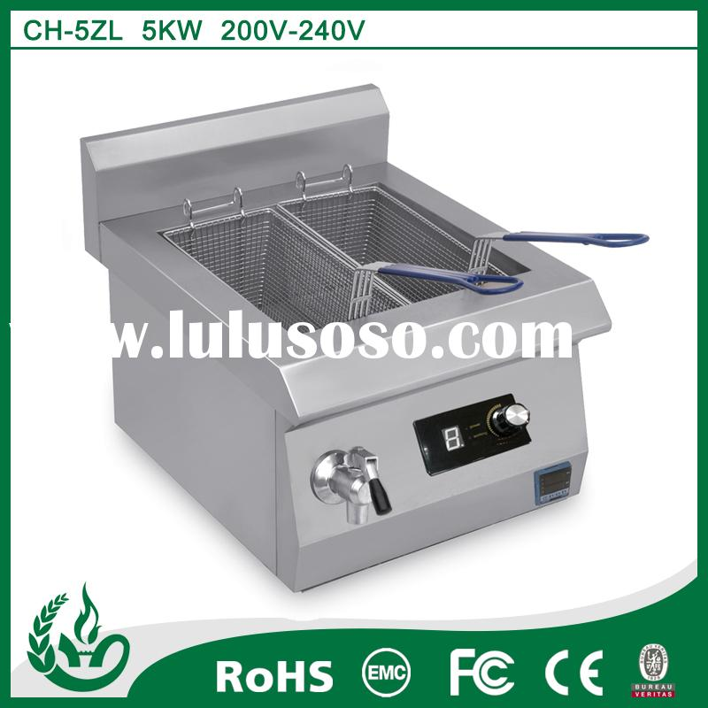 high quality table top electric deep fat fryer for home use