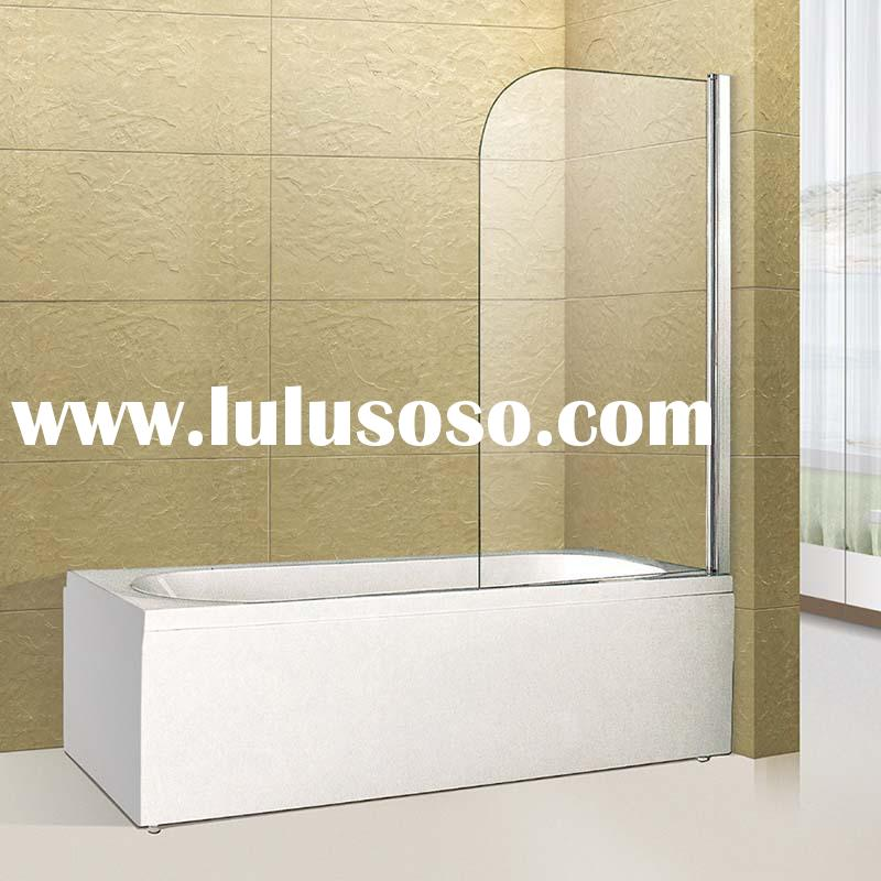 hot sale free standing bathtub sliding shower screens