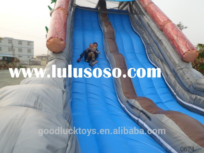 hotsale indoor kids inflatable slide with pool