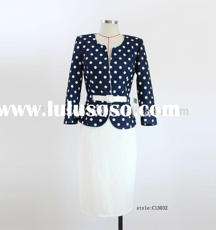 latest suit styles for women/women office skirt suit,pictures of business suit for women