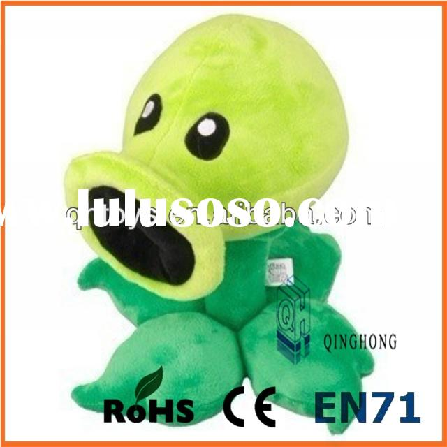 peashooter plants vs zombies plush toy