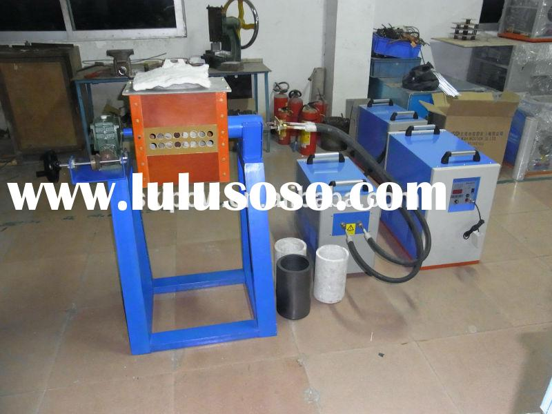 160kw Copper Induction small Melting Furnace and hardening