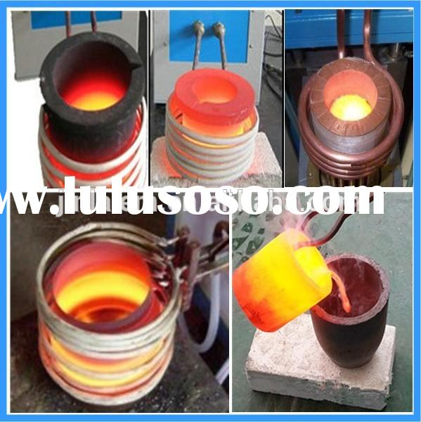 1kg copper brass bronze melting small induction furnace