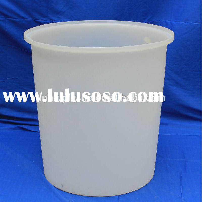 300l white plastic paint barrels/pails/buckets for factory