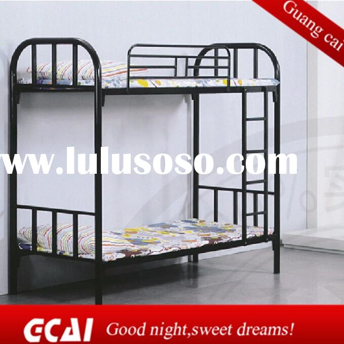 Adult high strength metal frame cheap queen size bunk bed