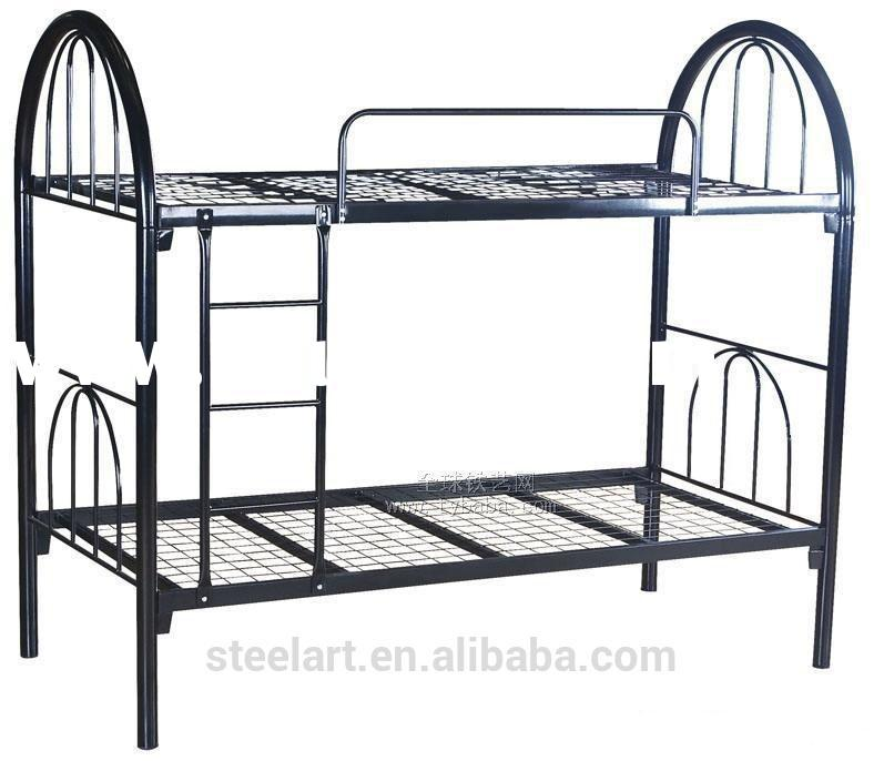 Bedroom furniture metal queen size bunk bed frame