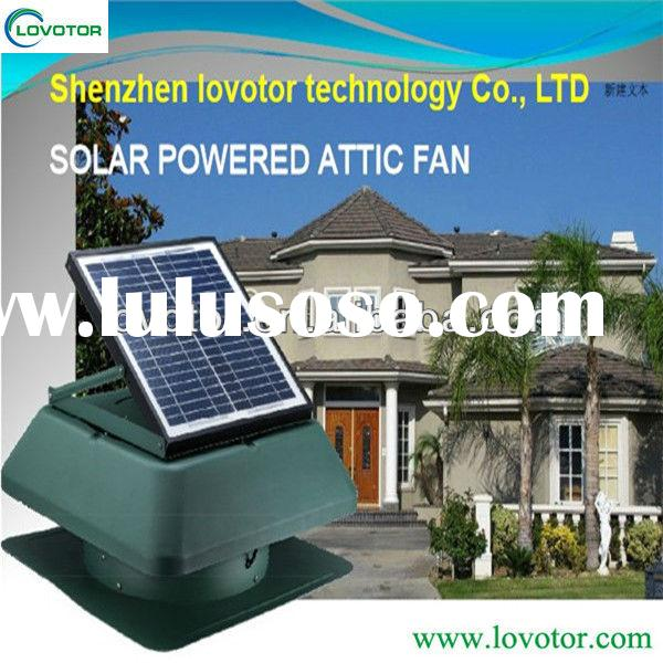Clean energy solar powered roof exhaust fan air vent fan 1750 CFM