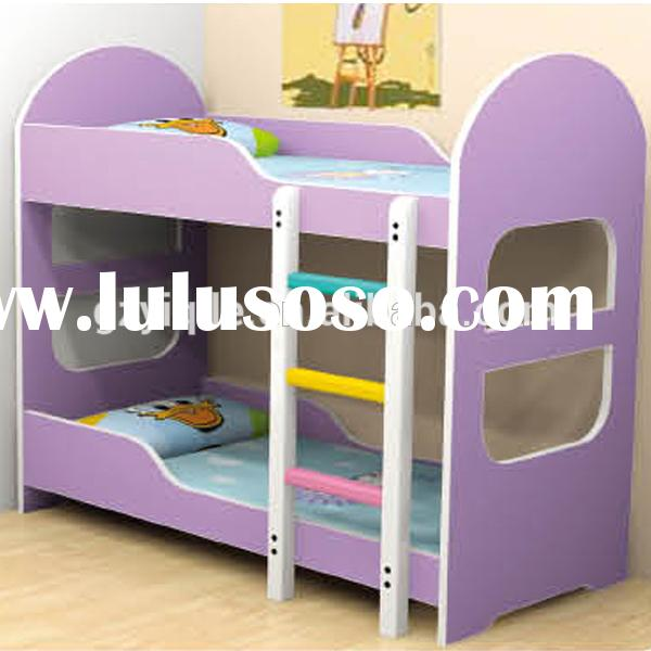 Comfortable kids bunk bed queen size metal bed frame