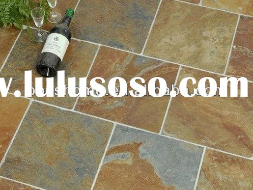Decorative plain outdoor slate tile natural stone