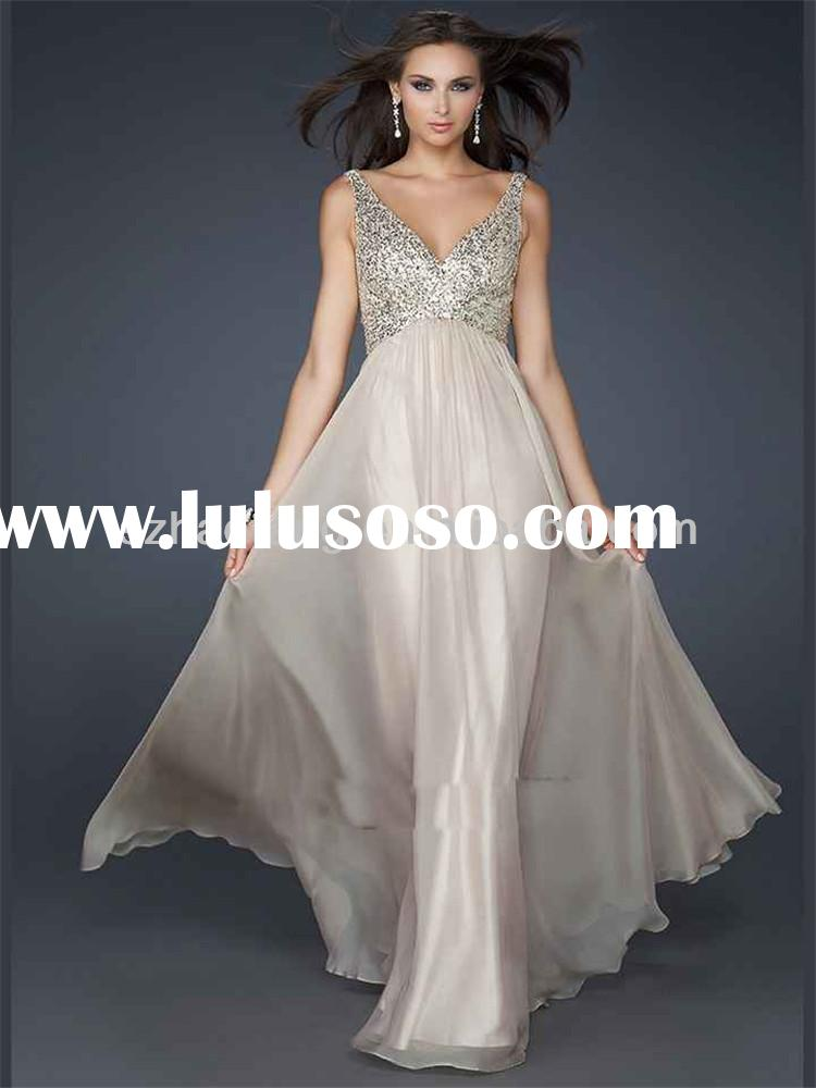 HT2274 Elegant latest designs evening gowns sleeveless bling wedding dresses ball gown