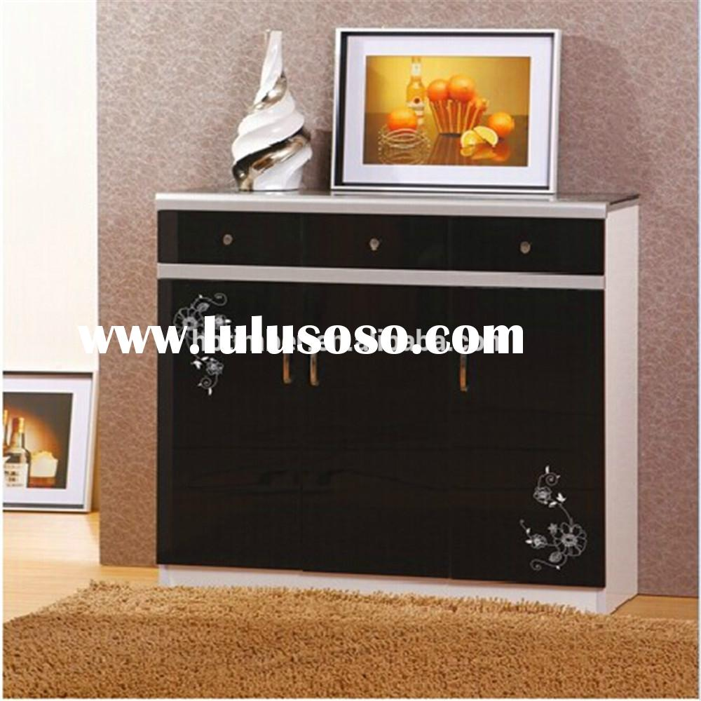 High quality wooden shoe cabinet Federal modern style furniture