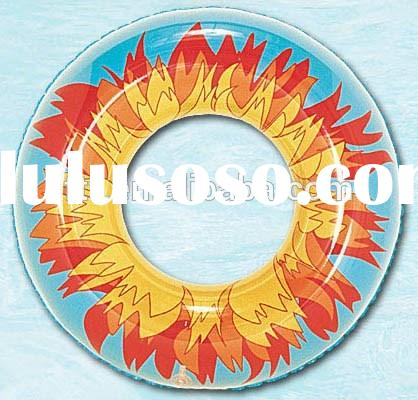 Hot Sale Summer New Fashioned Colorful Pvc Inflatable Swim Rings,pool toys for adults