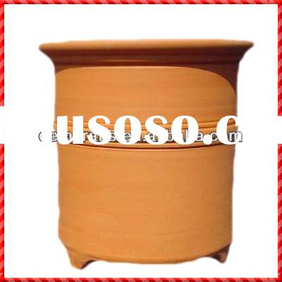 Hot sale handmade terracotta large clay planter pots sale