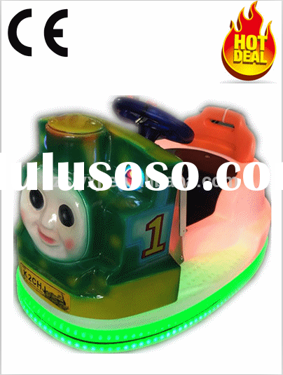 Luxury Kids' MINI BATTERY Powered BUMPER CAR Coin Operated Ride for Sales Pass CE certificat