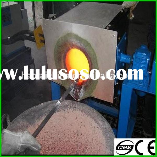 Newly small copper melting furnace, 600KG copper making induction furnace