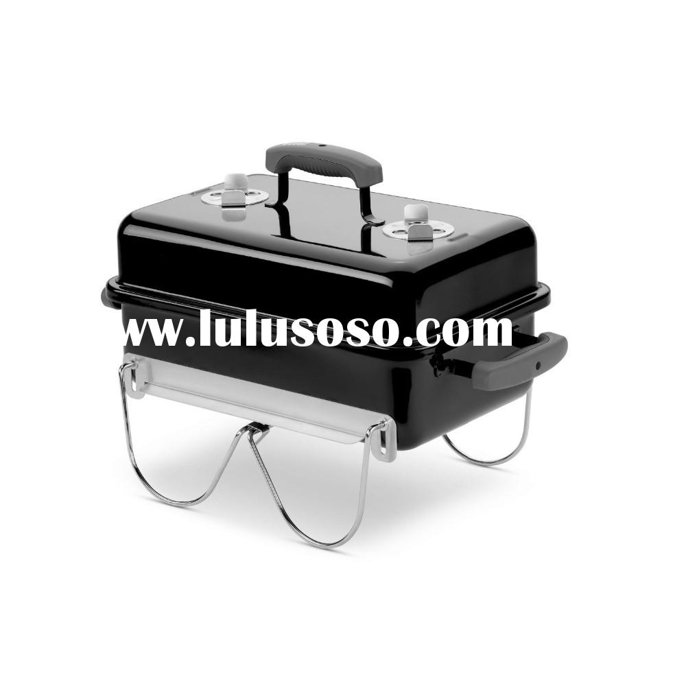 Portable Table Top Charcoal BBQ Barbecue Grills with Box Design for Camping Outdoor Kitchen Cooking