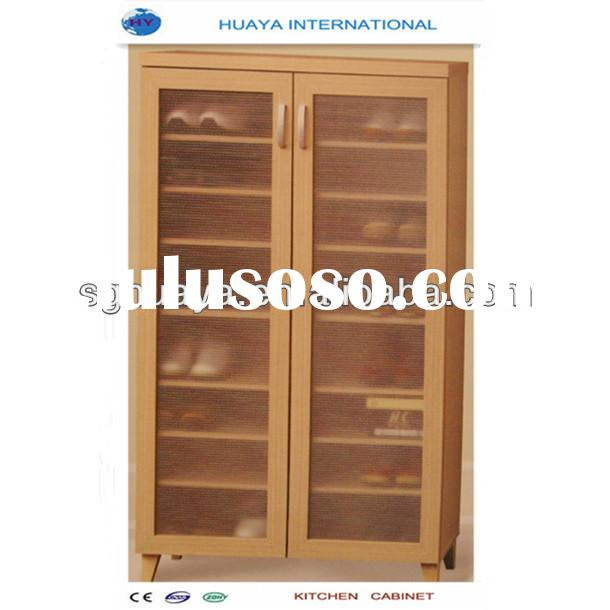 Teak wooden shoe cabinet furniture