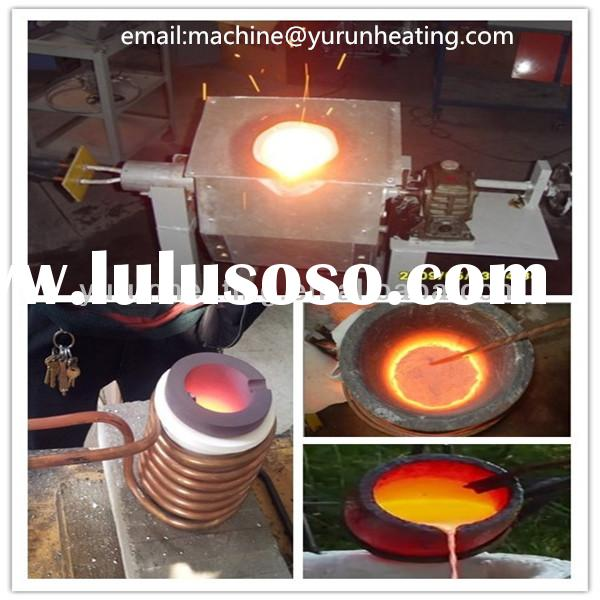 Top quality electric small copper melting furnace