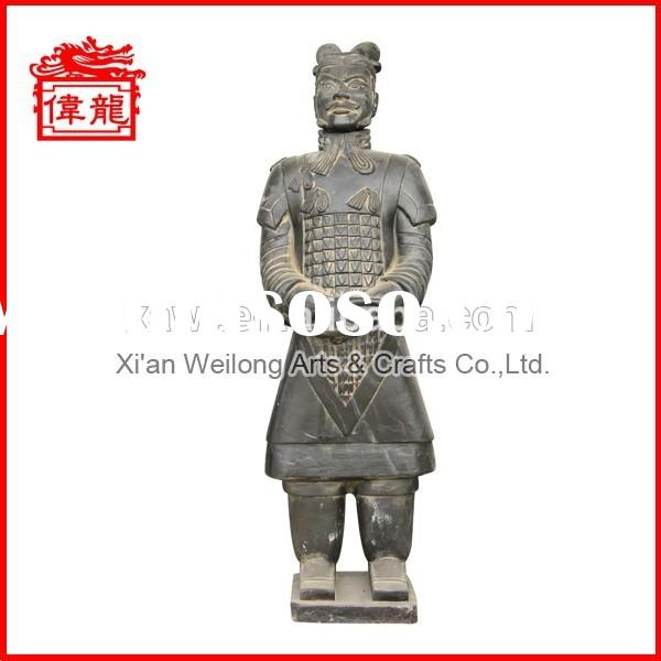 Various Color!!! Chinese Clay Terracotta Warriors Pottery for sale YHT120-1