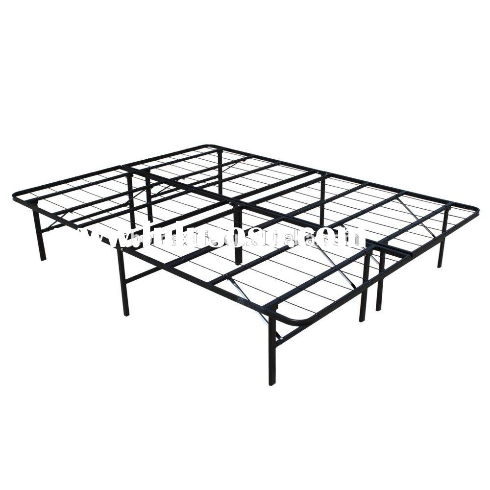 Wholesale twin / double / Queen / king size metal adjustable bed frame