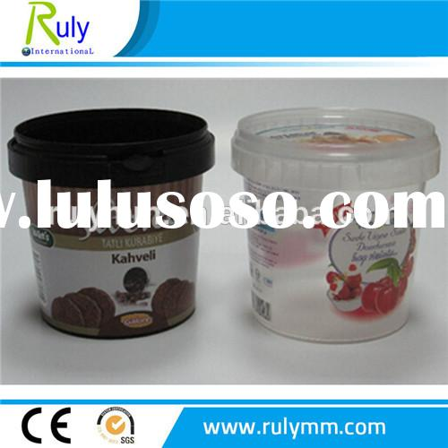 candy plastic bucket